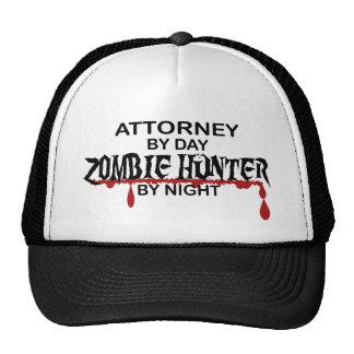 Attorney Zombie Hunter Cap