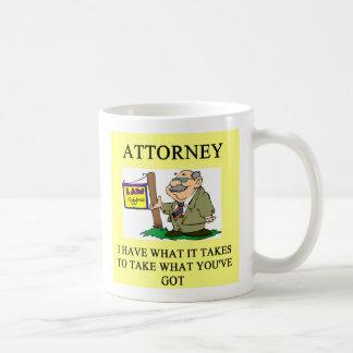 attorneys and lawyers joke, attorneys and lawye... coffee mug