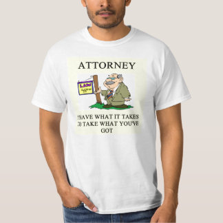 attorneys and lawyers joke T-Shirt