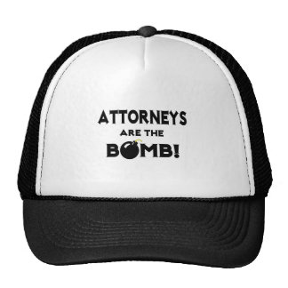 Attorneys Are The Bomb! Mesh Hats