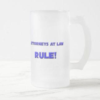 Attorneys At Law Rule! Coffee Mug