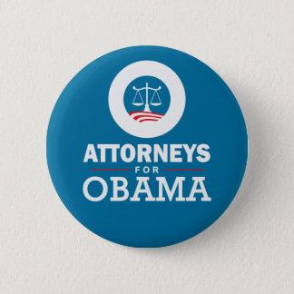 Attorneys for Obama 6 Cm Round Badge