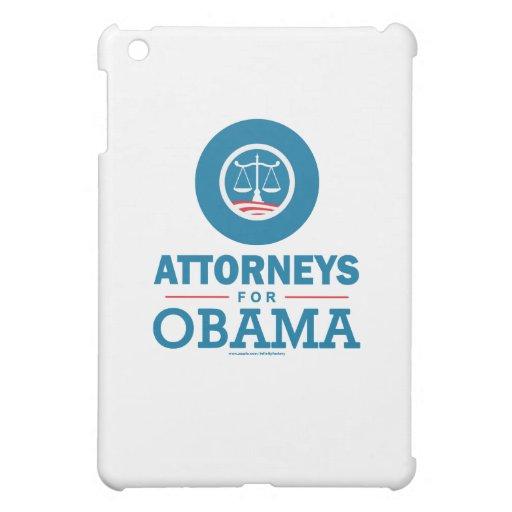 Attorneys for Obama iPad Mini Case