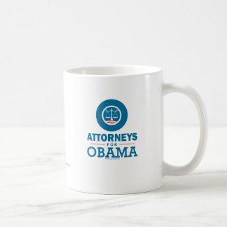 Attorneys for Obama Classic White Coffee Mug