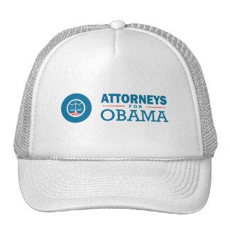 Attorneys for Obama Trucker Hats