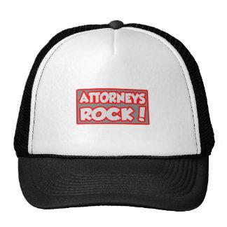 Attorneys Rock! Trucker Hats