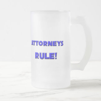 Attorneys Rule Coffee Mug