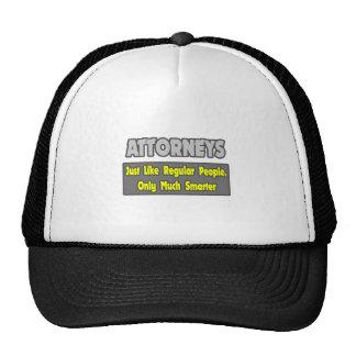 Attorneys...Smarter Hat