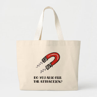 Attraction & magnetism: First date love magnet Jumbo Tote Bag