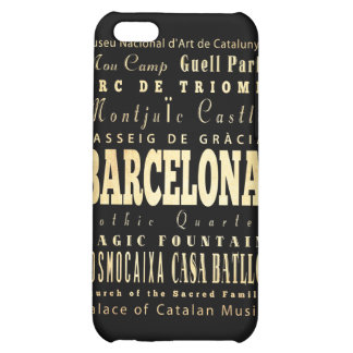 Attractions and Famous Places of Barcelona, Spain iPhone 5C Cases