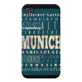 Attractions and Famous Places of Munich,Germany iPhone 4 Cover