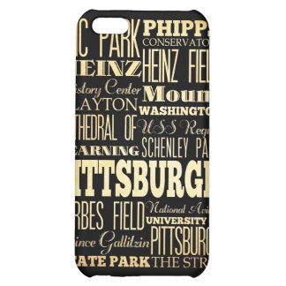 Attractions and Famous Places of Pittsburgh iPhone 5C Cover