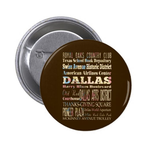 Attractions & Famous Places of Dallas, Texas. Pins