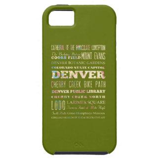 Attractions & Famous Places of Denver, Colorado. Tough iPhone 5 Case