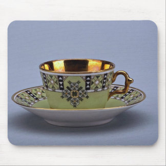 Attractive 20th century coffee cup and saucer mouse pads