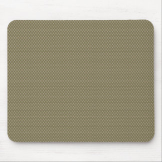 Attractive brown stars on rough pink surface mouse pad