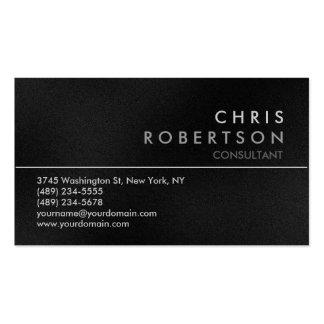 Attractive Grey Modern Business Card