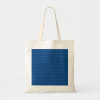 Attractive light blue flowers with two leafs on ro tote bag