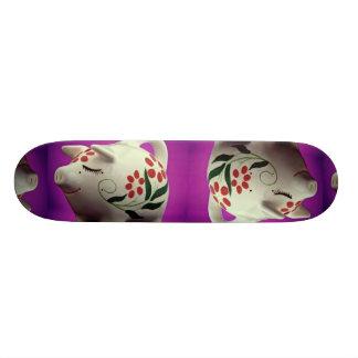 Attractive Piggy bank Skateboard Deck