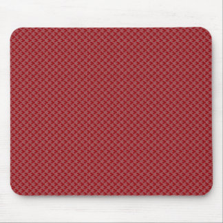 Attractive pink twinkling stars on rough red surfa mousepad