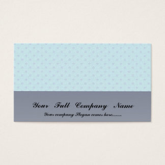 Attractive purple stars on rough sky blue surface business card