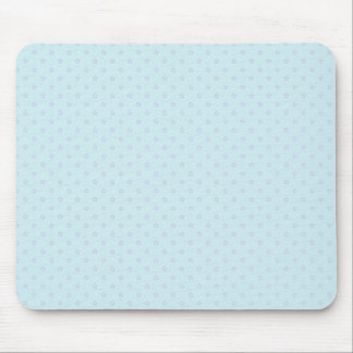 Attractive purple stars on rough sky blue surface mouse pad