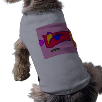 Attractive Smile Sleeveless Dog Shirt