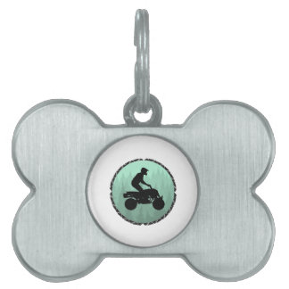 ATV DREAM LAND PET TAG