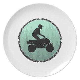 ATV DREAM LAND PLATE