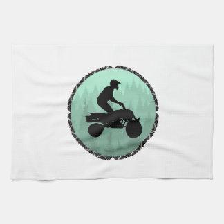ATV DREAM LAND TEA TOWEL