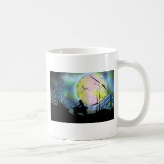 ATV Four Wheeler Space Landscape Spray Paint Art Coffee Mug
