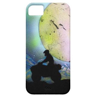 ATV Four Wheeler Space Landscape Spray Paint Art iPhone 5 Covers