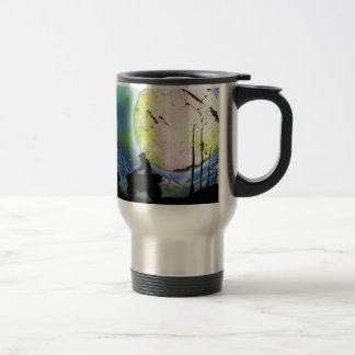 ATV Four Wheeler Space Landscape Spray Paint Art Travel Mug