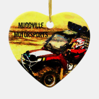 ATV Rider - All Terrain Extreme  Motorsports Ceramic Ornament