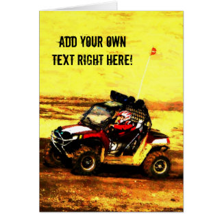 ATV Rider - All Terrain Extreme  Motorsports Greeting Card