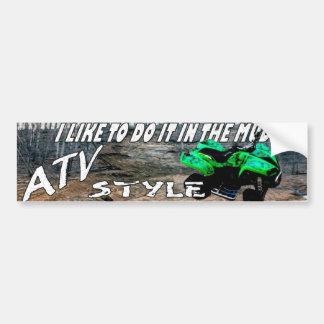 ATV STYLE STICKER