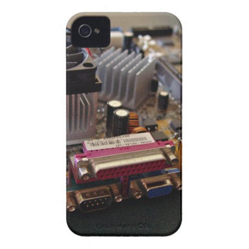 ATX motherboard view from connector edge Case-Mate Blackberry Case