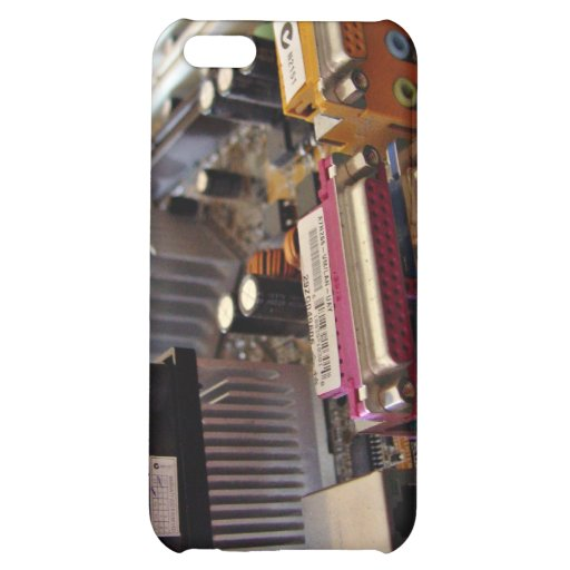 ATX motherboard view from connector edge Cover For iPhone 5C