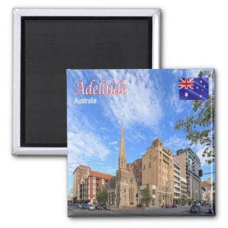 AU - Australia - Adelaide Square Magnet