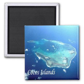 AU - Australia - Cocos Islands Square Magnet