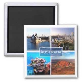 AU * Australia Magnet