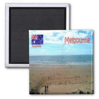 AU - Australia - Melbourne - The Great Ocean Road Square Magnet