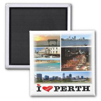 AU * Australia - Perth - Mosaic Magnet