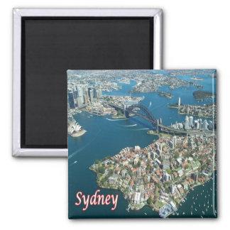 AU - Australia - Sydney - Harbour Bridge from air Magnet