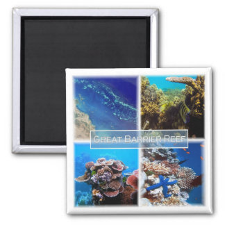 AU * Australia - The Great Barrier Reef Magnet