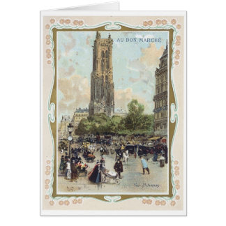 Au Bon Marche 4 Greeting Card