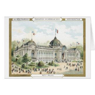 Au Bon Marche Exposition Universeille 1900 Greeting Card