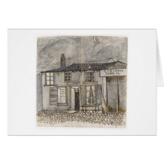 Au Charbonnage Café, Vincent van Gogh Card