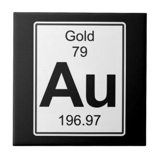 Au - Gold Tile