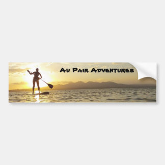Au Pair Adventures Bumper Sticker, 2012
